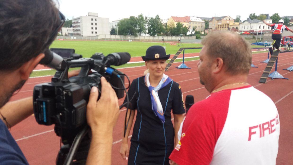Starostka KSH poskytla rozhovor televizi Fire sport
