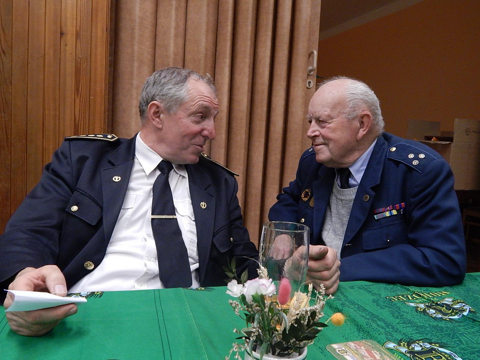 Setkání Zasloužilých hasičů Libereckého kraje v listopadu 2016